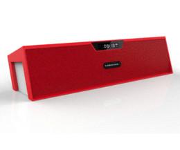 Acheter en ligne Boîte de haut-parleur de radio-16Go gratuit U disque! Big puissance HIFI Sardine Portable SDY-109 Bluetooth sans fil Haut-parleur stéréo 10w Radio FM Sound Box avec FM Mic