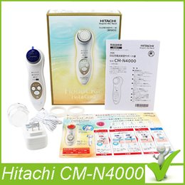 Hitachi CM-N4000 Face Cleaning Brush Chargable Cleansing Moisturizing Facial Massager Skin Care Handheld Facial Device