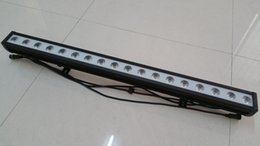 Free shipping High quality 18x10W RGBW Quad color LED 4in1 Wall Washer Bar, 4in1 1M Long LED outdoor Wall Washer