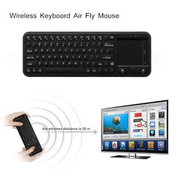 Mini 2.4G USB Wireless Keyboard Air Fly Mouse Touchpad Remote Contorl for Mini PC Android TV Box