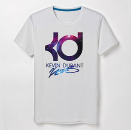 Basketball Kevin Durant KD short-sleeved t-shirt cotton round neck T-shirt loose large size men's casual shirt