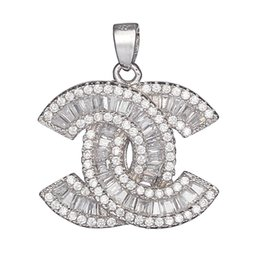 Wholesale 925 sterling silver Fashion Pendants Shinning Noble Generous S White Cubic Zirconia Favourite Best Sellers First class products