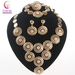 Hot sale indian jewelry necklace jewelry sets african jewelry set earrings for women statement necklace earrings2016