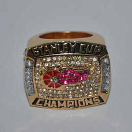 New Replica 18K Gold Plated Championship Ring Replica for 1998 Detroit Red Wings National Hockey League Stanley Cup