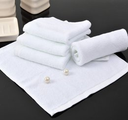 Wholesale 150 grams of line Cotton white towel hotel special pure cotton towel high quality