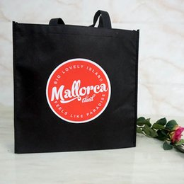 Promotional gifts custom logo bag with high quality size 30*40*10 CM logo two color one side