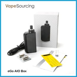 Wholesale Joyetech eGo AIO Box Kit All in one System ml Capacity mah Battery Innovative Anti leaking Structure Child Lock Authentic