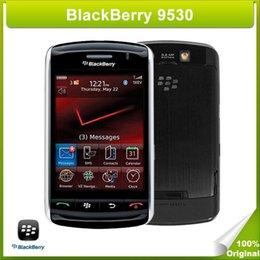 Refurbished Original Unlocked BlackBerry 9530 Mobile Phone BlackBerry 5 OS Virtual QWERTY Keyboard 3G WCDMA Network