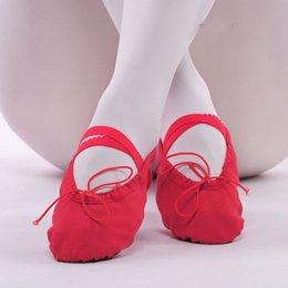 Wholesale Dance Shoes Adult teachers shoes dance shoes soft bottom practice fitness child ballet shoes yoga CXTY