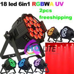 Wholesale die cast aluminium led W in1 RGBWAUV LED par light par led rgbwA in1 w IN1 led stage lights