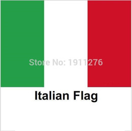 Wholesale New fashion cm Italy Flag Office Activity parade Festival Home Decoration