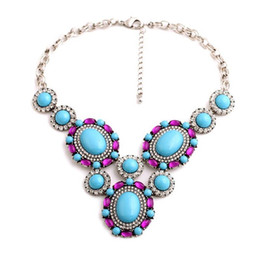 Wholesale Super Deals Fashion Crystal Best Friend Pendant Necklace Jewelry Luxury Statement Bohemia Exaggeration Opaque Diamante Silver Womens J