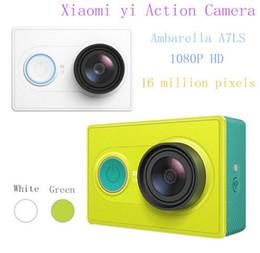Wholesale 100 Original xiaomi yi action kamera MP x1080 p camara deportiva WIFI Bluetooth4 action cam xiaomi kamera sport kamera