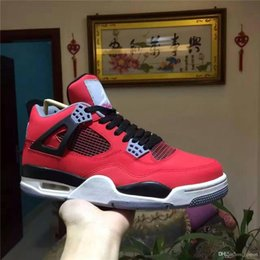 Wholesale Hot Sale Air Jordan Retro Bred Release Jordans IV Hight Quality Basketball Shoes s With Original Box Sneakers