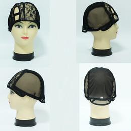 5PCS Right Part U part wig caps for making wigs S M L U part Wig Caps Adjustable Strap On the Back