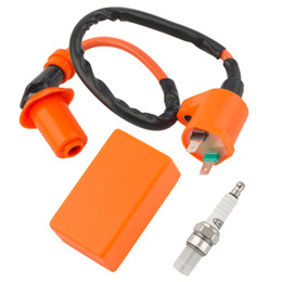 Wholesale Racing Performance CDI Ignition Coil Spark Plug Fit Gy6 cc cc cc Hot Selling