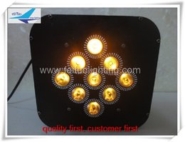 Wholesale Online shopping pieces wireless led flat par x15w rgbwa stage lighting flat par for wedding party