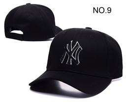 Wholesale Hot sell Yankees Cap Hip Hop MLB Snapback Caps NY Hats MLB Hat Unisex Sports New York Adjustable Bone Women casquette Men headware