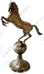 Pakistan senior carved on the bronze anniversary special offer exquisite workmanship 1M the biggest horse ball