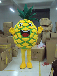 Wholesale 2016 Easter pineapple Mascot Costume Adult Size Mascot Costume fancy dress Party Advertising and carnival Costume EPE material
