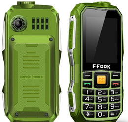 Wholesale F FOOK F209 Old Man Phone inch Screen mah Battery Dual Sim Card Dual Standby Phone For Old Man with Retail Package