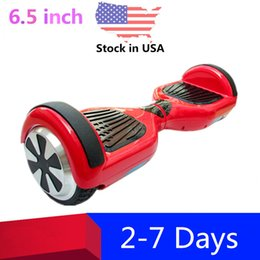 Hoverboard no Bluetooth Balance Wheel 6.5 inch Two Wheels Electric Scooters Smart Skateboard Self Balancing Scooter USA Stock Dropshipping