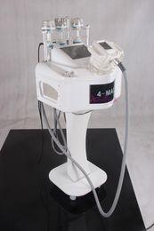 High intensity RF vacuum blue light head ultrasonic liposuction Cavitation RF Multipolar Radio Frequency BIO lifting slimming Machine