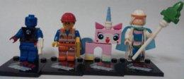7pcs The Movie characters human torch Biznis uniKitty Wyldstyle Good Cop Vitruvius minifigures plastic bricks block toys