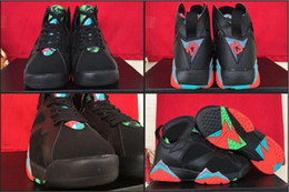 Wholesale New Model Retro VII Barcelona Nights Remastered Marvin The Martian Men Basketball Sport Sneakers Trainers Shoes Cheap Hot Sale