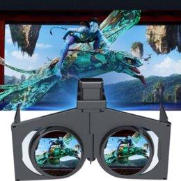 Version la plus récente! Mini Headmount Pliable 3D VR Lunettes Réalité Virtuelle Vidéo Movie Game Lunettes pour téléphones intelligents à partir de nouveaux jeux vidéo fournisseurs