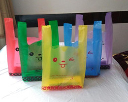 Wholesale Cheaper Supermarket Bags Hand Length Handle packaing Gift bag shopping Bags Carrier bags Strong bearing capacity Stand Up Pouch Dozen