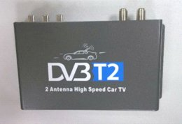 Wholesale 2014 New DVB T2 Car DVB T2 with Two Active Antenna High Speed for Thailand Russia Colombia Singapore antenna car antenna amplifer