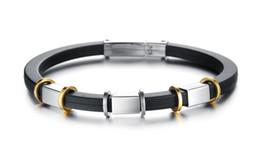 Top Grade Genuine Silicone Bracelet & Bangle Attractive Men Jewelry Factory Price Fashion Genuine Silicone Jewelry For Unisex Bracelets
