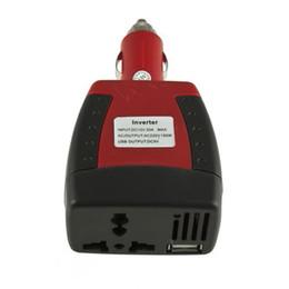2017 12v ac chargeur Nouvelle allume-cigare Alimentation 150W 12V DC à 220V AC onduleur de voiture Adaptateur avec chargeur USB Port peu coûteux 12v ac chargeur