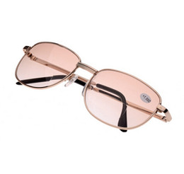 Super Light Stainless Steel Full Frame Travel Pocket Eyewear Reading Glasses Women Reading Glasses Men Presbyopic Glasses
