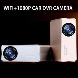 China inalámbrica inteligente en Línea-WIFI Mini Smart Car DVR WiFi cámara de la rociada IOS Andriod soporte 160 Grado ADAS 1080P 60fps f1.8 6lens envío gratuito