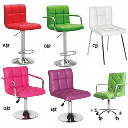 Wholesale Leather upholstered chair bar stool cafe writing den tea reception lift bank transfer
