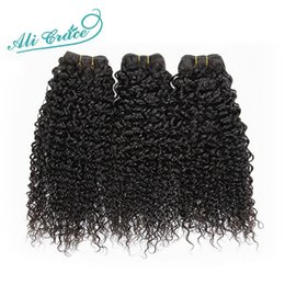 Wholesale Ali Grace Hair Products Brazilian Virgin Hair Kinky Curly A Unprocessed Afo Kinky Curly Hair Brazilian Hair Weave Bundles