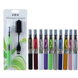 CE4 Electronic Cigarette Blister kits CE4+ eGo T starter kit 650mah 900mah 1100mah EGO-T battery E-cigarette blister kit 30pcs lot