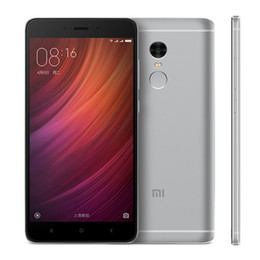 Wholesale Original Xiaomi Redmi note Pro Deca Core Helio X20 GB GB quot P MP MIUI G LTE Fingerprint Smartphones