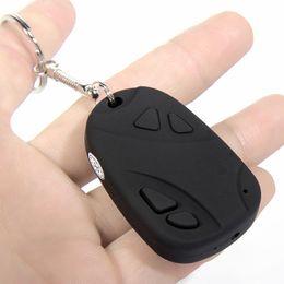 10pcs lot HD 720P Mini Car Keys Portable Camcorder HD Car Keychain Camera Motion Activated Video Recorder Pocket Camera Mini DVR