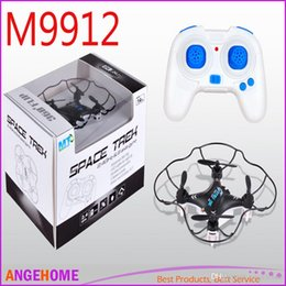 Newest M9912 RC Mini Quadcopter 2.4G 4CH 6 Axis Gyro professional Drone 3D Fly RC Copter Toy PK Cheerson CX-10