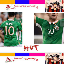 Wholesale 31 AUGUST AVIVA STADIUM KEANE top thai version jersey Ireland jersey