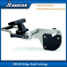 Wholesale JB32S edge trimmer machine for melamine paper veneer plastic PVC use with portable edge banding machine