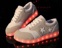Led Shoes Glowing 7 Colors Men Women Fashion Luminous Led Light UP Shoes for Adults Basket LED Shoes,SIZE35-43