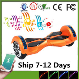 2016 Balance Wheel hoverboard Smart Bluetooth 8 Inch hoverboard bluetooth Electric Scooter Hoverboards Two Wheels Scooter hoverboard