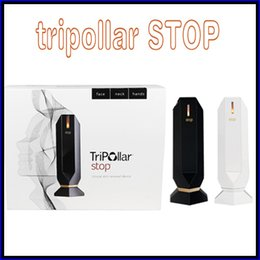 Wholesale tripollar STOP RF Equipment Anti Aging Device Dark Circles Lines Wrinkles Wrinkle Reduction Home Skin Care Device VS Alpha fit MIA Fit PMD