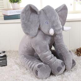 Wholesale 28 cm Elephant Plush Soft baby Sleep Positioner Pillow Baby Dolls Baby Toys Sleep Bed Car Seat Cushion Pillows Kids Bedding