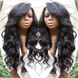 Natural hairline brazilian glueless full lace wigs human hair front lace wigs Body wave wavy natural color with baby hair