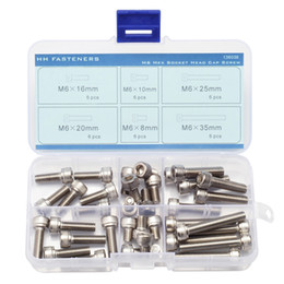 Wholesale Hex Socket Cap Screw M6 Qty Assortment Kit M6 to M6 mm Size Stainless Steel